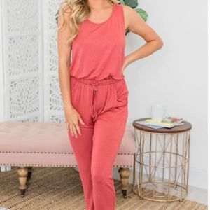 Pink Lily NWT Casual and Comfy jumpsuit